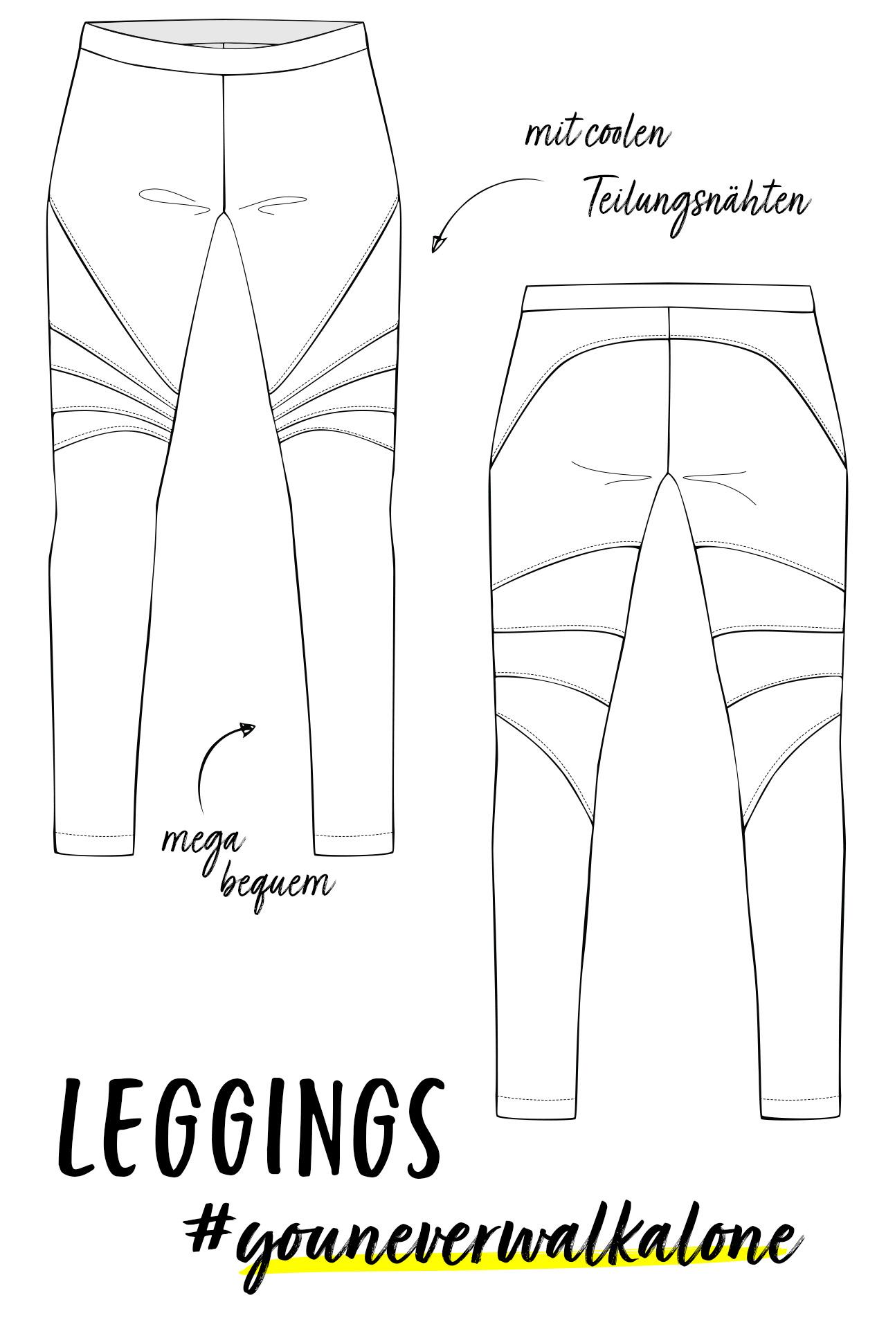 Was drunter ohne leggings Unten ohne/nichts