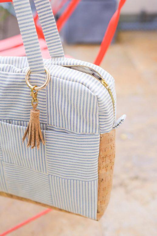 Schnittmuster Laptoptasche #busybeebag nähen mit Yes, Honey