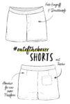 Schnittmuster #outoftheboxer Shorts nähen mit Yes, Honey