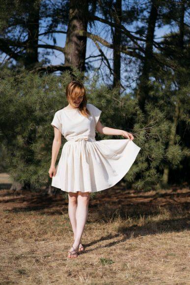 Schnittmuster #liz Kleid nähen mit Yes, Honey