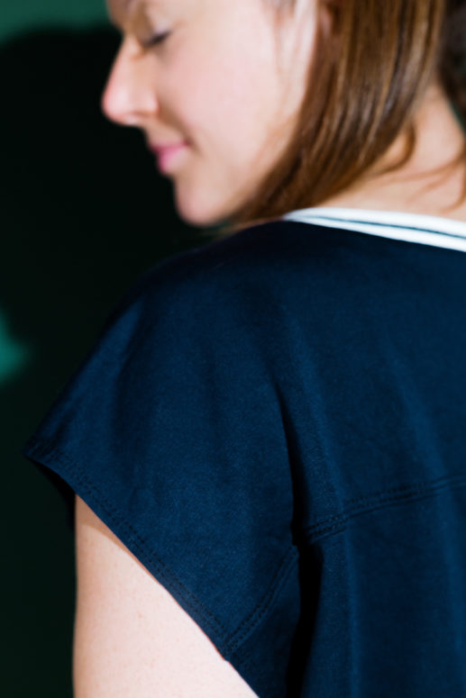 Schnittmuster #twentyminutes Shirt nähen mit Yes, Honey