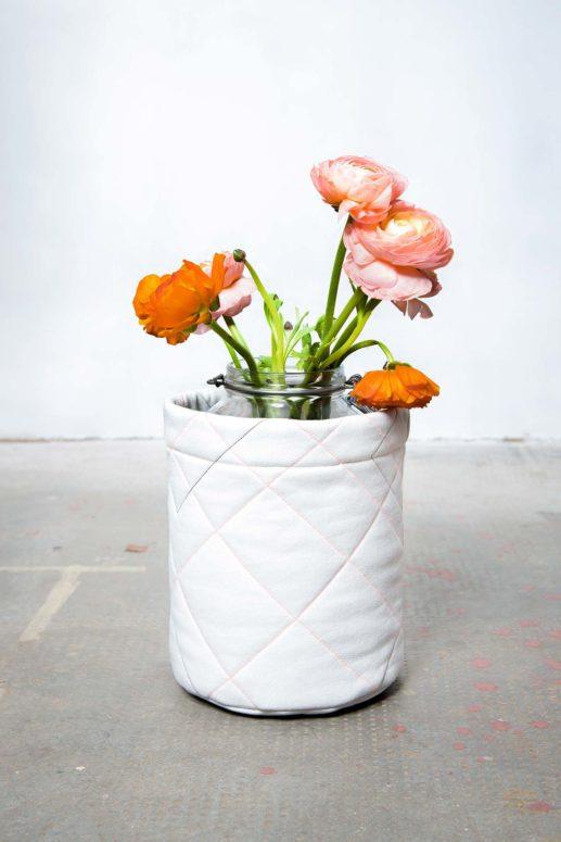 Schnittmuster Utensilo #flowerempower nähen mit Yes, Honey